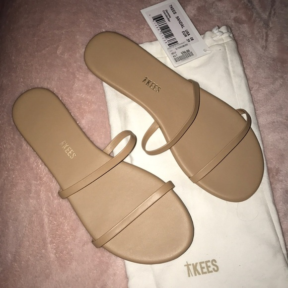90bde5bb5656 Women Tkees Gemma Sandal in Cocobutter Size  8